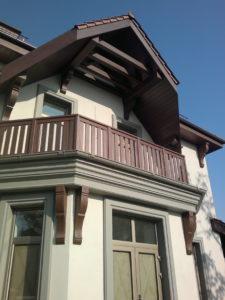 Балкон из сеня