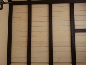 Обшивка крыши